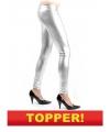 Voordelige zilveren legging