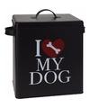 Voorraadblik voor hondenvoer i love my dog groot