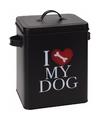 Voorraadblik voor hondenvoer i love my dog klein