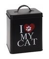 Voorraadblik voor kattenvoer i love my cat