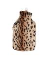 Warm water kruik met cheetah hoes
