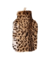 Warm water kruik met luipaard hoes