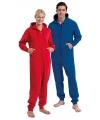 Warme onesie jumpsuit voor heren