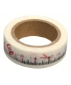 Washi tape met cm meetlint