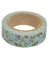 Washi tape met rozen