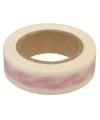 Washi tape roze met babyvoetjes