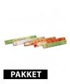Wierook pakket b vijf geuren 100 stokjes