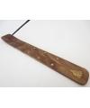 Wierookhouder houten plankje boeddha