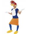 Winnie woodpecker kostuum volwassen