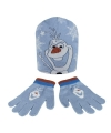Winter set kids frozen olaf blauw