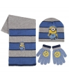 Winter set kids minions