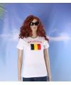 Wit dames t shirt belgie