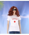 Wit dames t shirt japan
