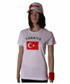 Wit dames t shirt turkije