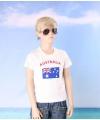 Wit kinder t shirt australie