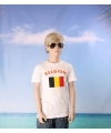 Wit kinder t shirt belgie