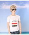 Wit kinder t shirt egypte