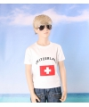 Wit kinder t shirt zwitzerland
