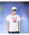 Wit t shirt holland volwassenen