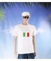 Wit t shirt italie volwassenen