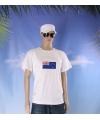 Wit t shirt nieuw zeeland volwassenen