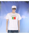 Wit t shirt portugal volwassenen