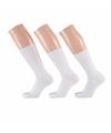 Witte dames sokken 3 paar maat 35 42