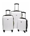 Witte handbagage koffer 46 cm