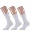 Witte heren sokken 3 paar maat 40 46