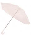 Witte kanten paraplu 60 cm