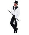 Witte slipjas voor heren