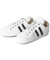 Witte sportschoen pantoffels voor dames