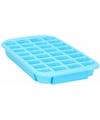 Xl ijsblokjes vorm 24 blokjes blauw