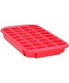 Xl ijsblokjes vorm 24 blokjes rood