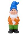 Xl tuinkabouter blauw 50 cm
