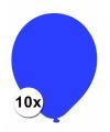Xxl ballonnen blauw 10 stuks