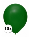 Xxl ballonnen groen 10 stuks