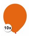 Xxl ballonnen oranje 10 stuks