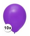 Xxl ballonnen paars 10 stuks