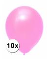 Xxl ballonnen roze 10 stuks