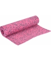 Yogamat roze camouflageprint 185 cm