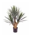 Yucca kunstplant 90 cm in pot voor binnen buiten