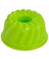 Zandvorm gebakje groen