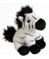 Zebra knuffeltje 15 cm