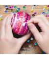 Zelf pailletten kerstballen maken set