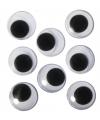 Zelfklevende wiebel oogjes 20 mm