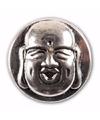 Zilveren chunk boeddha 1 8 cm