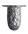 Zilveren glitter textielstift