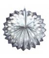 Zilveren lampion 22 cm