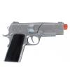 Zilveren pistool 18 cm 8 shots